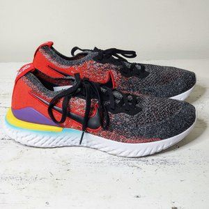 Nike Shoes - NIKE Epic React Flyknit 2 'Black University Red'